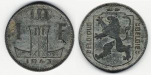 1 франк 1943 года