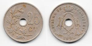 25 сантимов 1928 года
