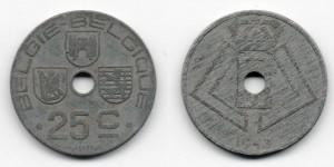 25 сантимов 1943 года