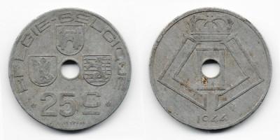 25 centimes 1944