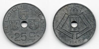 25 сантимов 1946 года