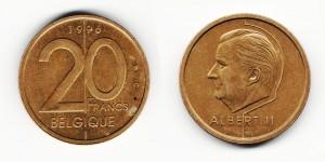 20 франков 1996 года