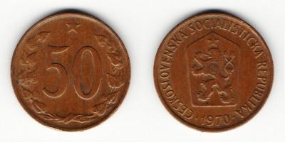 50 гелеров 1970 года