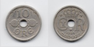 10 эре 1924 года