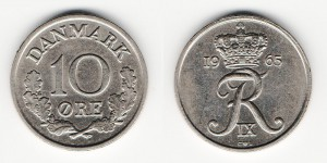 10 эре 1965 года