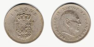 1 крона 1964 года