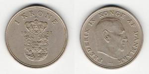 1 крона 1971 года