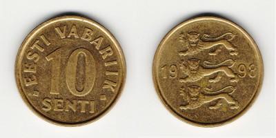 10 сентов 1998 года