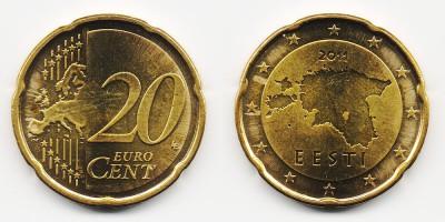 20 евроцентов 2011 года