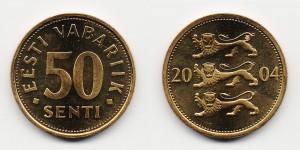 50 сенти 2004 года