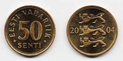 50 сентов 2004 года
