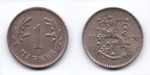 1 марка (markka) 1930 года
