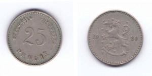 25 пенни 1928 года