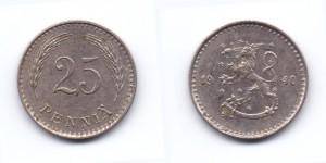 25 пенни 1940 года