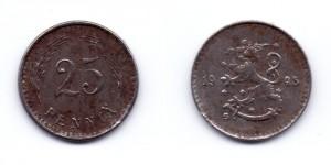25 пенни 1945 года