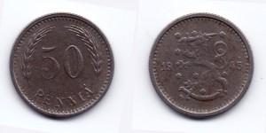 50 пенни 1945 года