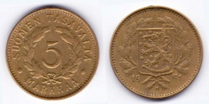 5 марок 1951 года