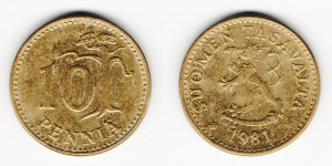 10 пенни 1981 года