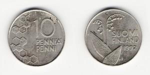 10 пенни 1992 года