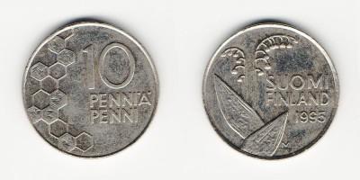 10 penniä 1995