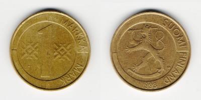 1 markka 1993