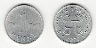 1 penni 1977