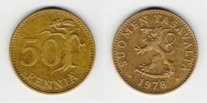 50 пенни 1978 года