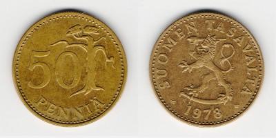 50 penniä 1978