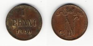1 пенни 1900 года