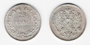 25 пенни 1913 года