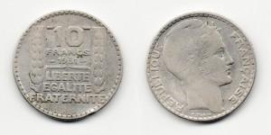 10 франков 1931 года