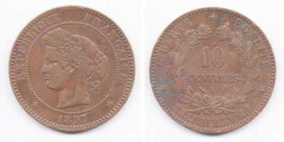 10 centimes 1897