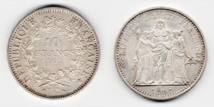 10 франков 1970 года