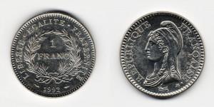 1 франк 1992 года