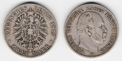 2 mark 1876 C