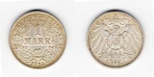 1 марка 1915 года G