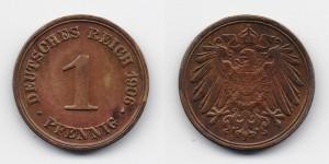 1 пфенниг 1906 года