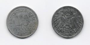 10 пфеннигов 1922 года