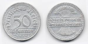 50 пфеннигов 1919 года