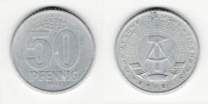 50 пфеннингов 1958 года A