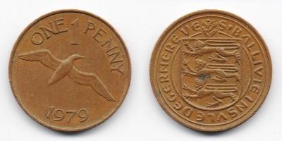 1 пенни 1979 года