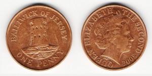 1 пенни 2008 года