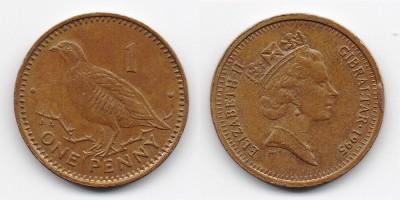 1 пенни 1995 года