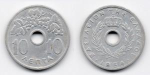 10 лепт 1954 года