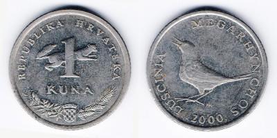 1 куна 2000 года