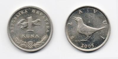 1 куна 2005 года
