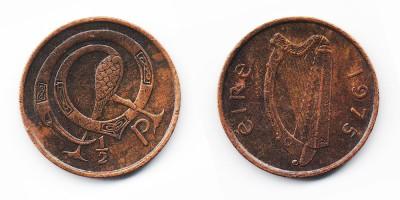 1/2 penny 1975