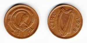 1/2 пенни 1978 года