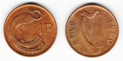 1 penny 1990