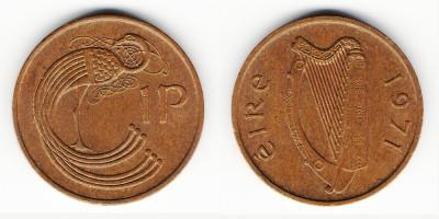 1 penny 1971